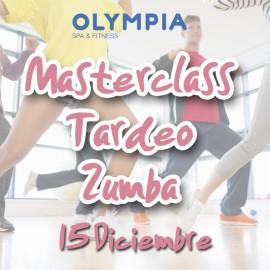 Masterclass Tardeo Zumba - 15 Diciembre