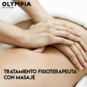Physiotherapy treatment with massage