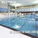 Bono de 20 sesiones de Baño libre