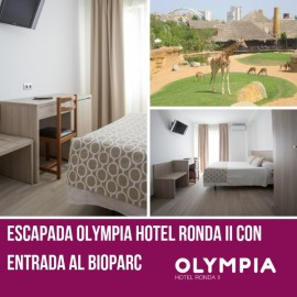 Hotel Ronda Getaway with tickets to Bioparc