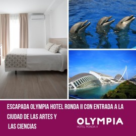 Getaway in Hotel Ronda with tickets to City of Arts and Science