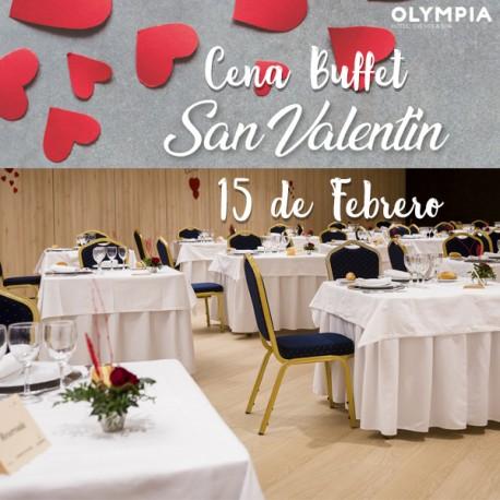 Cena de San Valentín con Hotel